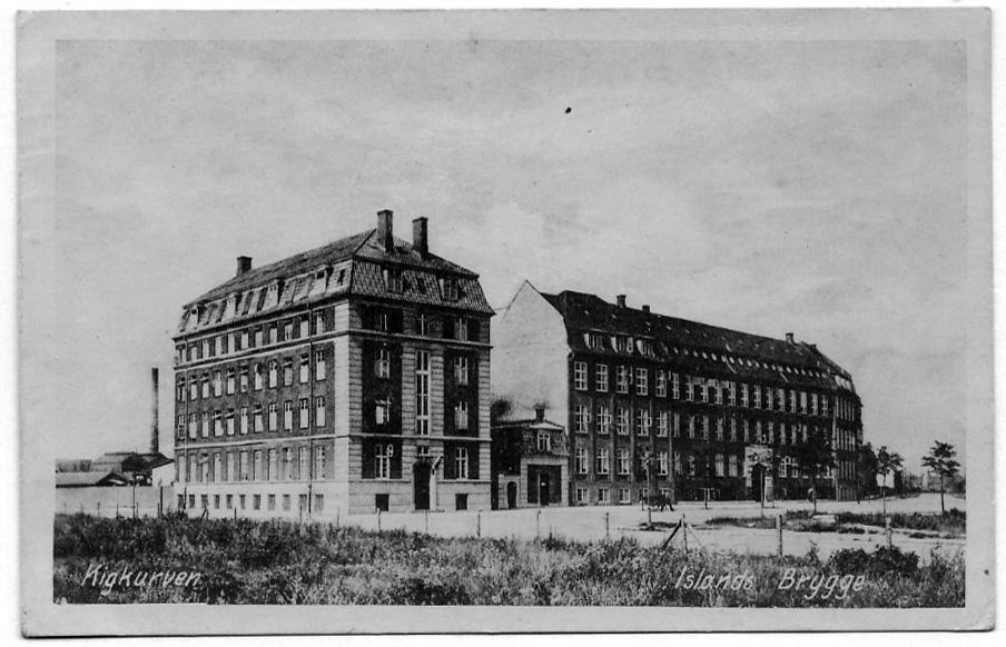 Kigkurren 1916 Bryggenslokalhistoriedk Bydelen Fra 1905